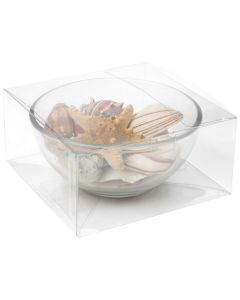 Decorative bowl in clear packaging