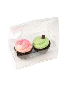 Double cupcake bag with insert