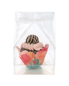 4 x 4 x 9 cupcake bag with insert