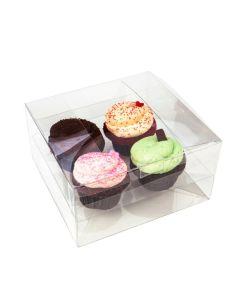 Cupcake box for 4