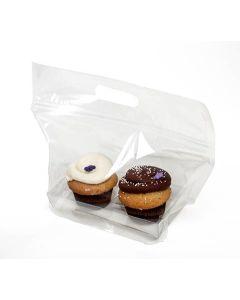 cupcake bag set for 2 cupcakes