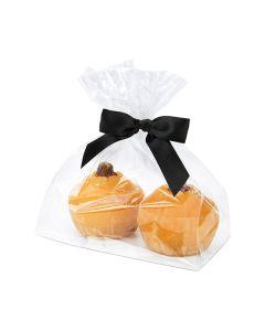 Food safe flat bottom gusset bag