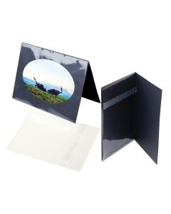 Clear card slip cover