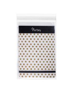 """6 3/16"""" x 9"""" + Flap, Crystal Clear Bags® (100 Pieces) [B69S]"""