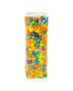 Jelly Beans Packaged in Flat Bottom Gusset, 1.6 Mil