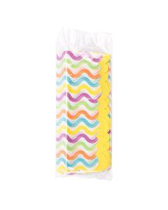 Tissue paper inside bottom seal poly bag