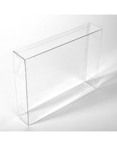 """8 1/8"""" x 2"""" x 10 1/16"""" Crystal Clear Boxes® (25 Pieces) [FPB244]"""