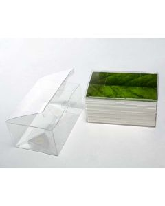 """6 1/8"""" x 4 1/8"""" x 3"""" Crystal Clear Boxes® (25 Pieces) [FPLB214]"""
