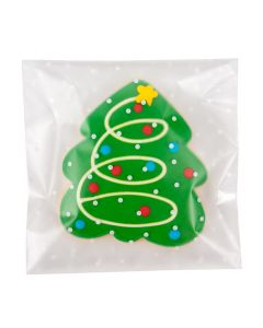 """5 1/2"""" x 5 1/2"""" + Flap Frosted Flap Seal Bag w/Polka Dots (100 Pieces) [B55FDXL]"""