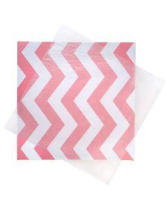 12x12 Glassine sheet over stationery