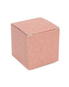 "rose gold 2"" x 2"" x 2"" folding box"