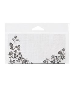 Clear Bottom Loading Flap Seal Bag with Stationery