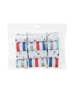 Hanging flap seal bag with confetti tubes