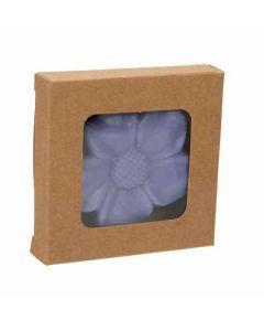 """2 3/4"""" x 9/16"""" x 2 11/16"""" Kraft Paper Window Box"""