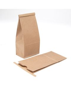 Kraft Bag with Tin Tie Closure