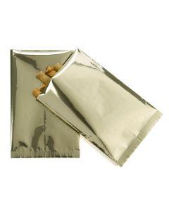 Metallic flat sealable bags