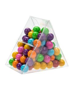 "Food safe triangular box - 3"" x 1 5/8"" x 2 5/8"""