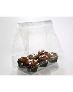 Cupcake bag set for six minis