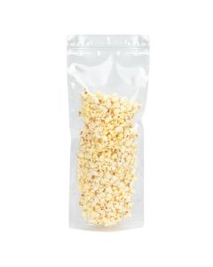 """7"""" x 2 3/8""""x 17"""" (Outer Dimensions) Clear Stand Up Pouch with Hang Hole (100 Pieces) [ZBGCC3N]"""