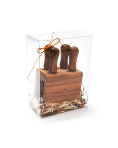 "Display your Products Clearly with 5 3/8"" x 3"" x 7 3/8"" Crystal Clear Boxes® Pop & Lock Bottom Boxes with Lids"