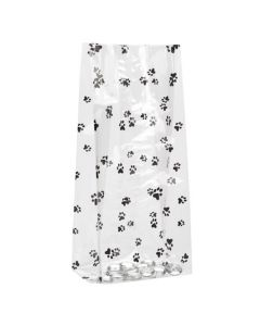 Standing Puppy Paw Printed Gusset Bag