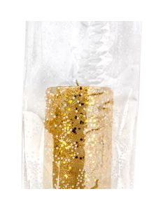 """5"""" x 3"""" x 11 1/2"""" Sprinkles print gusset bag"""