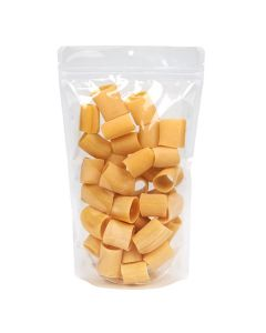 """6 3/4"""" x 3 1/2"""" x 11 1/4"""" (Outer Dimensions) Clear Recyclable Stand Up Pouch (100 Pieces) [ZBGER4]"""