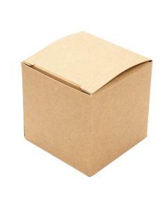 """2"""" x 2"""" x 2"""" kraft box"""
