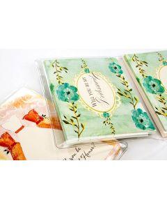 "6 1/8"" x 9 7/8"" Vinyl Wallets for A2 Envelope & cards (100 Pieces) [VINA2]"
