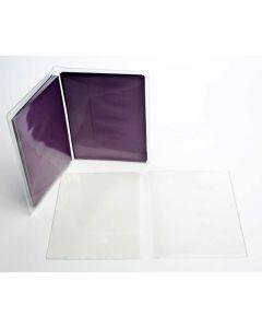 "6 7/8"" x 10 5/8"" Vinyl Wallets for A6 (100 Pieces) [VINA6]"