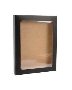 """4 1/2"""" x 5/8"""" x 5 7/8"""" Matte paper box"""