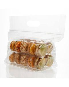 macaron zipper bag set for 20