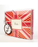 Greeting card clear boxes