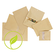 Kraft Compostable Heat Seal Bags