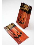 """4"""" x 2 1/2"""" x 9 1/2"""" The Great Pumpkin Printed Gusset Bags, 1.2 Mil (100 Pieces) [G4TGP]"""