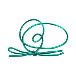"10"" Metallic Green Stretch Loop (50 Pieces) [10MGR]"