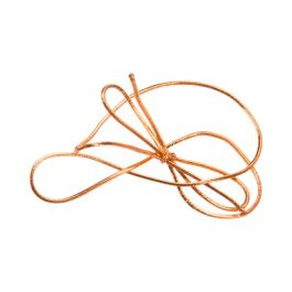 "16"" Metallic Copper Stretch Loop (50 Pieces) [16MC]"