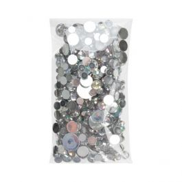 "2 1/4"" x 4 1/4"" + Flap, Crystal Clear Bags® (100 Pieces) [B2X4S]"