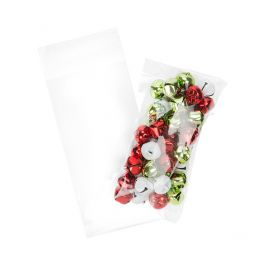 """3 11/16"""" x 7 5/16"""" + Flap, Crystal Clear Bags® (100 Pieces) [B37M]"""