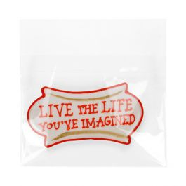 """5 11/16"""" x 4 1/4"""" + Flap Crystal Clear Protective Closure Bags (100 Pieces) [B45SPC]"""