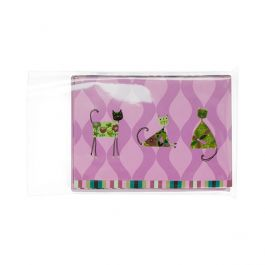 """4 1/4"""" x 5 3/8"""" + Flap, Crystal Clear Protective Closure Bags (100 Pieces) [B4B2PC]"""