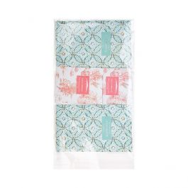 """7 7/16"""" x 12 1/4"""" + Flap, Crystal Clear Bags® (100 Pieces) [B712]"""