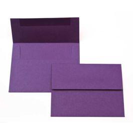 """A7 7 1/4"""" x 5 1/4"""" Basis Envelope, Dark-Purple (50 Pieces) [EC016]"""