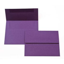 "A2 5 3/4"" x 4 3/8"" Basis Envelope, Dark-Purple (50 Pieces) [EC216]"