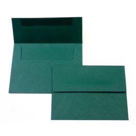 "A7 7 1/4"" x 5 1/4"" Basis Envelope, Green (50 Pieces) [EC019]"