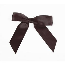 "7/8"" Espresso Pre-tied Bow (100 Pieces) [BOW7ES]"