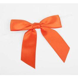 "7/8"" Torrid Orange Pre-tied Bow (100 Pieces) [BOW7TO]"