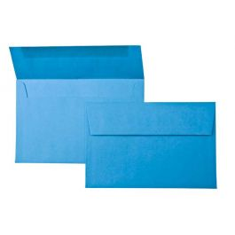 "A9 8 3/4"" x 5 3/4"" Astrobrights Envelope, True Blue (50 Pieces) [E5413]"