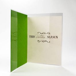 "5 15/16"" x 8 7/8"" Crystal Clear Card Jacket for A2 Envelope + card (100 Pieces) [CJA2]"