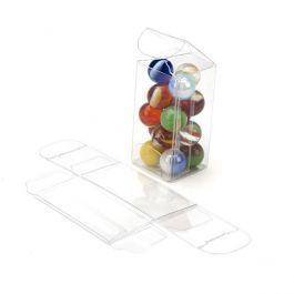 "1"" x 1"" x 2"" Crystal Clear Value Boxes (50 Pieces) [VB290]"
